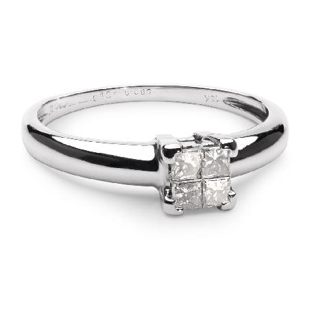 """Auksinis žiedas su Brangakmeniais """"Princesės"""""""