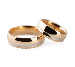 "Gold wedding rings ""VKA 313"""