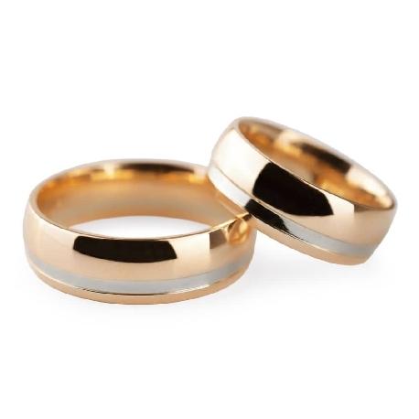 "Gold wedding rings ""VKA 313"""