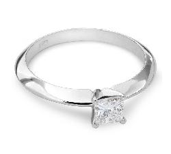 """Auksinis žiedas su Deimantais """"Princesė 5"""""""