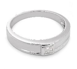 """Auksinis žiedas su Deimantu """"Princesė 9"""""""