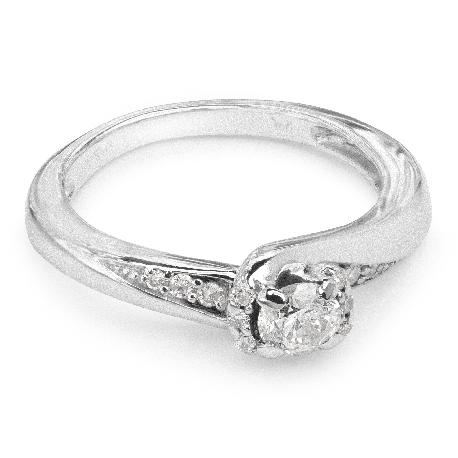 """Auksinis žiedas su Deimantais """"Gyvybė"""""""