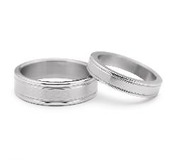 "Gold wedding rings ""VKA 314"""