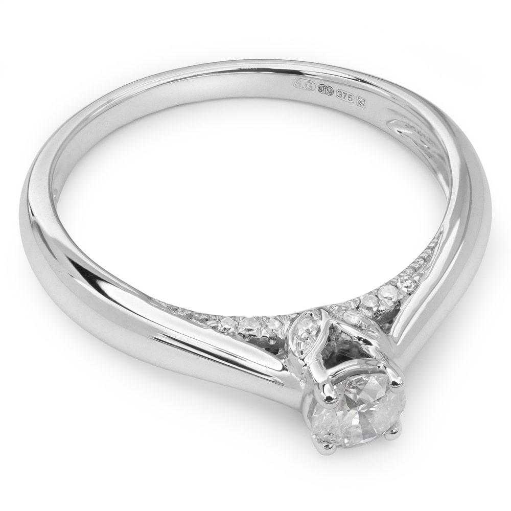 "Engagement ring with brilliant ""Grace 10"""