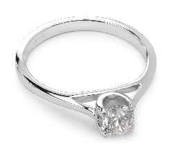 "Engagement ring with brilliant ""Goddess 21"""