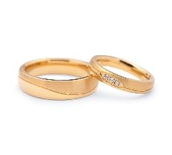 "Gold wedding rings ""VKA 106"""