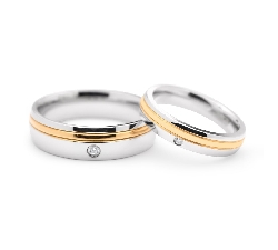 "Gold wedding rings ""VKA 323"""