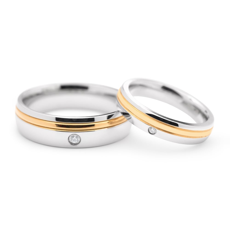 "Gold wedding rings ""VKA 323"""
