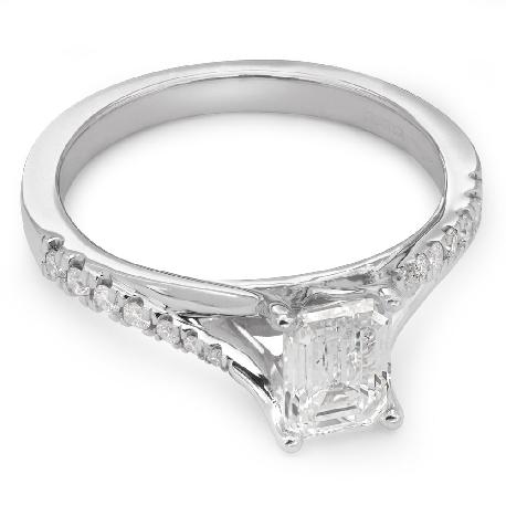 """Auksinis žiedas su Deimantais """"Grakštumas 34"""""""