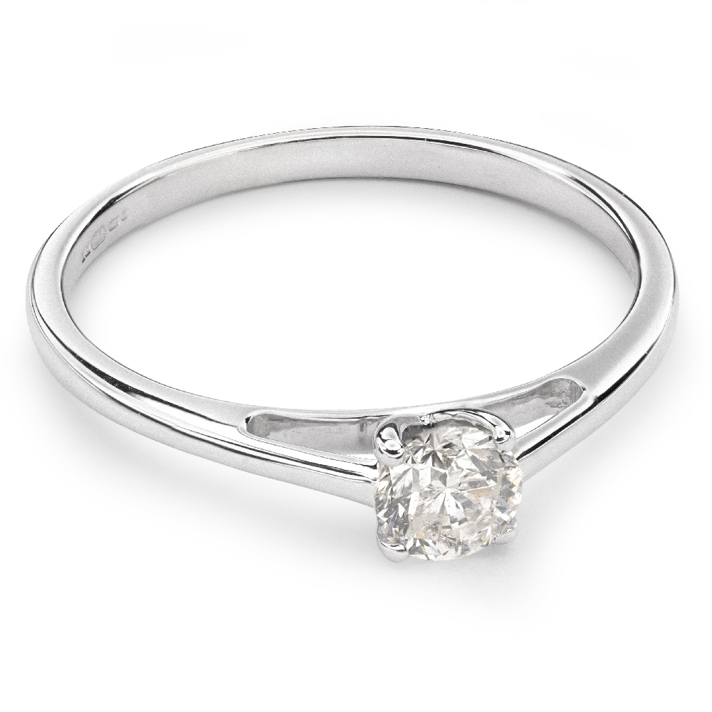 """Engagement ring with brilliant """"Goddess 35"""""""