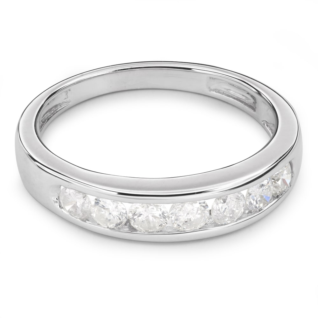 """Auksinis žiedas su briliantais """"Deimantinė juostelė 24"""""""