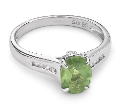 """Auksinis žiedas su Brangakmeniais """"Spalvos 32"""" en"""