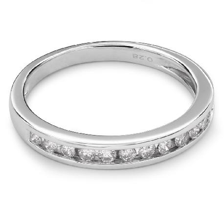 """Auksinis žiedas su Briliantais """"Deimantinė Juostelė 27"""""""