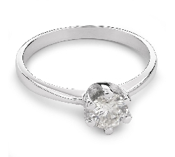 "Engagement ring with brilliant ""Unforgettable 10"""