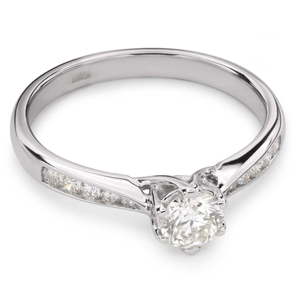 """Engagment ring with brilliants """"Grace 65"""""""