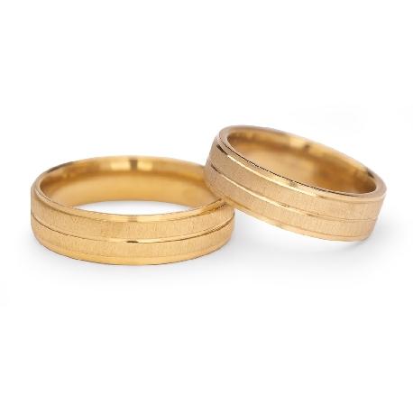 "Gold wedding rings ""VKA 309"""