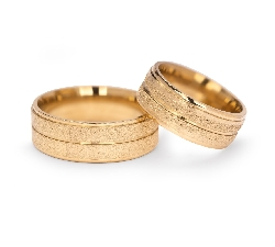 "Gold wedding rings ""VKA 308"""