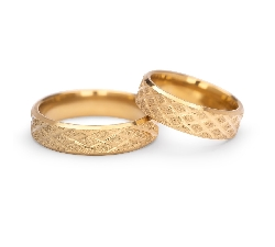 "Gold wedding rings ""VKA 307"""