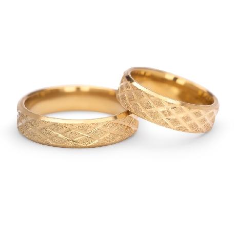 "Gold wedding rings ""VKA 307"""