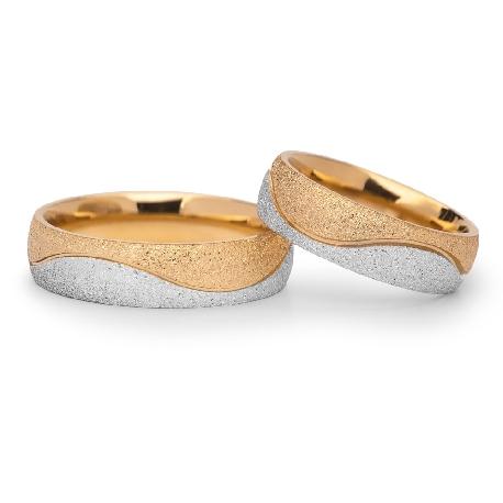 "Gold wedding rings ""VKA 304"""