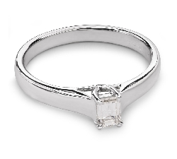 """Engagement ring with diamond """"Strength 63"""""""