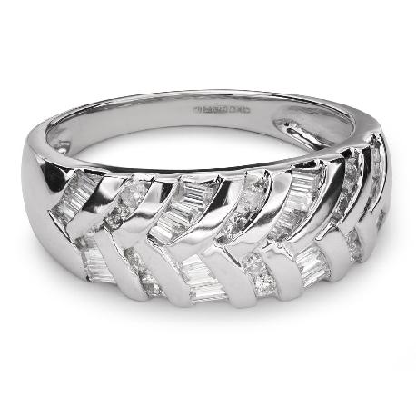 """Auksinis žiedas su deimantais """"Gyvybė 31"""""""