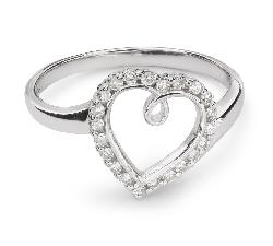 """Sužadėtuvių žiedas su Briliantais """"Mylimasis 45"""""""