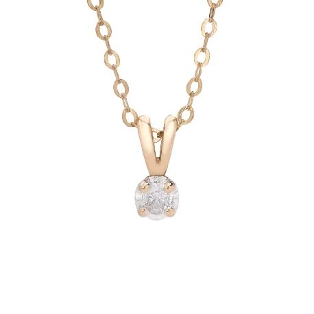 "Gold pendant with brilliant ""Classic 20"""