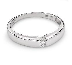 """Auksinis žiedas su Briliantu """"Tarp Uolų 10"""""""