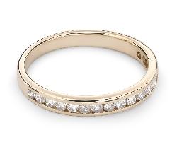 """Auksinis žiedas su Briliantais """"Deimantinė Juostelė 34"""""""