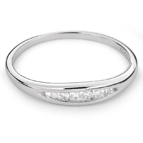 """Auksinis žiedas su Briliantais """"Deimantinė Juostelė 37"""""""