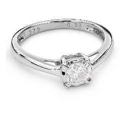 """Engagement ring with brilliant """"Lover 68"""""""