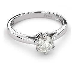 """Engagement ring with brilliant """"Classic 29"""""""