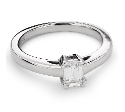 "Engagement ring with diamond ""Strength 85"""