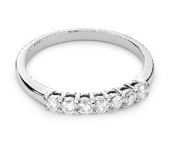 """Sužadėtuvių žiedas su Briliantais """"Deimantinė Juostelė 41"""""""