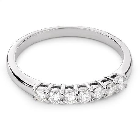 """Auksinis žiedas su briliantais """"Deimantinė juostelė 41"""""""