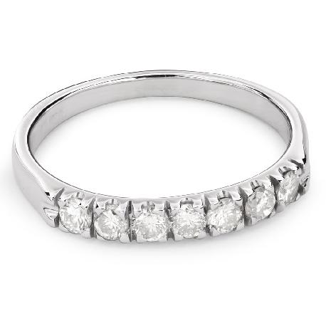 """Auksinis žiedas su Deimantais """"Deimantinė juostelė 44"""""""