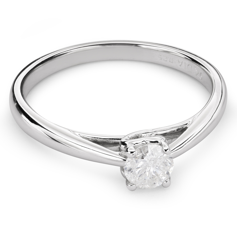 """Engagement ring with brilliant """"Goddess 85"""""""