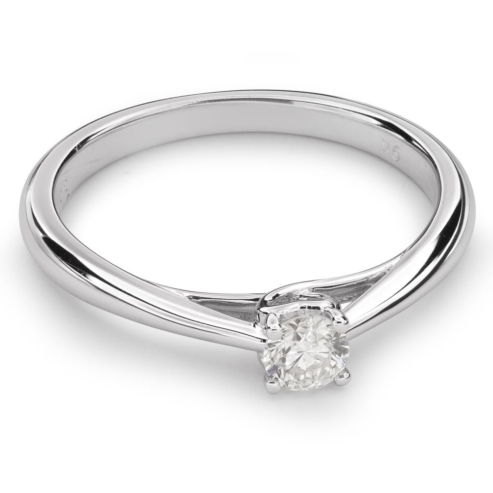"""Engagement ring with brilliant """"Goddess 84"""""""