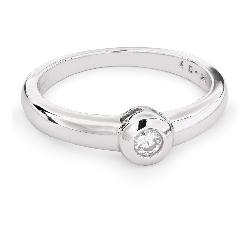 """Auksinis žiedas su Briliantu """"Tarp Uolų 18"""""""