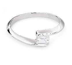 """Auksinis žiedas su deimantu """"Tarp Uolų 19"""""""