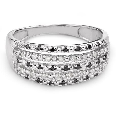 """Auksinis žiedas su Deimantais """"Spalvos 44"""""""