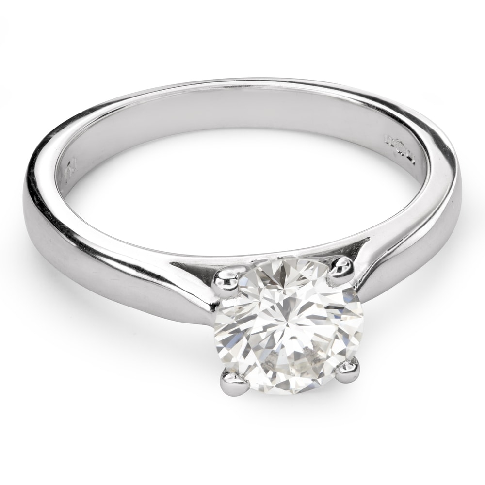 """Engagement ring with brilliant """"Goddess 111"""""""