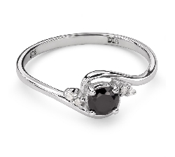 """Auksinis žiedas su Brangakmeniais """"Safyras 29"""""""
