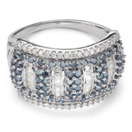 """Auksinis žiedas su deimantais """"Spalvos 59"""""""