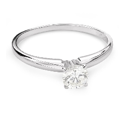 """Engagement ring with brilliant """"Goddess 121"""""""