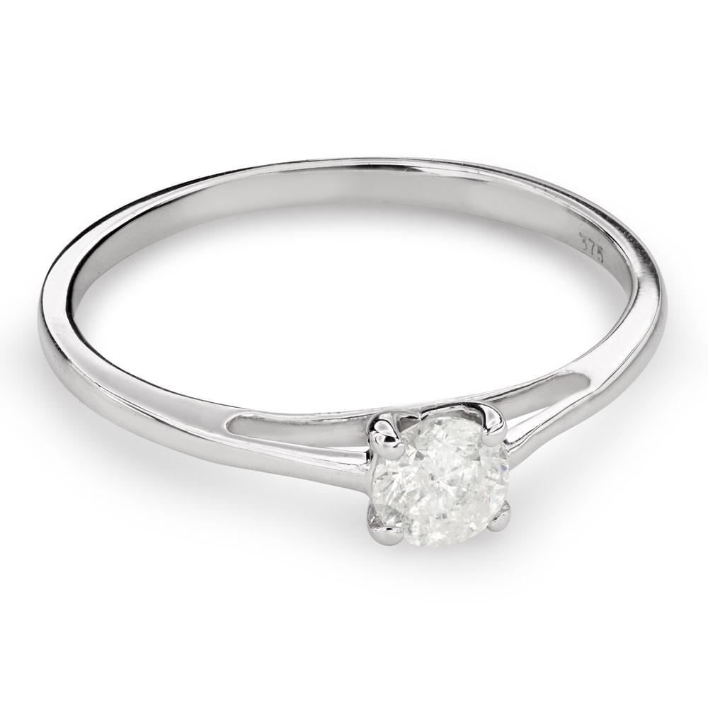 """Engagement ring with brilliant """"Goddess 128"""""""