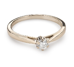 "Engagement ring with brilliant ""Purity 36"""