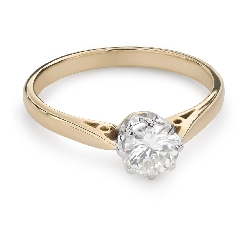 """Engagement ring with brilliant """"The only one 115"""""""
