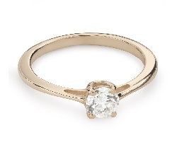 """Engagement ring with brilliant """"Goddess 133"""""""